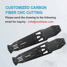 Customized Carbon Fiber CNC Cutting Plate Service DIY Carbon Fiber Sheet Plate CNC machining Precision carving