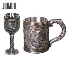 304 Stainless Steel Skull Coffee Mug Viking Beer Steins Gift For Men Fathers Day Gifts Halloween Bar Home Decoration 35