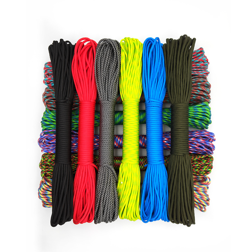 31 Meters Dia.4mm 9 stand Cores Paracord for Survival Parachute Cord Lanyard Camping Climbing Camping Rope Hiking Clothesline|Paracord| |  - title=