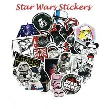 25pcs/set Star Wars Laptop Stickers Waterproof Luggage Suitcase Wall Fridge Graffiti Pattern Personality Creative Decoration