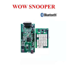 цена на NEW best relay WOW CDP SNOOPER V5.008 R2 + keygen TCS CDP Pro Plus with Bluetooth USB as multidiag OBD for cars trucks Free ship