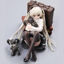 цена на 18cm Japan Anime Action Figure Yosuga No Sora Kasugano Sora Modle Toys Hobbies Collection  Figma  Home Decor Garage Kits  Gift