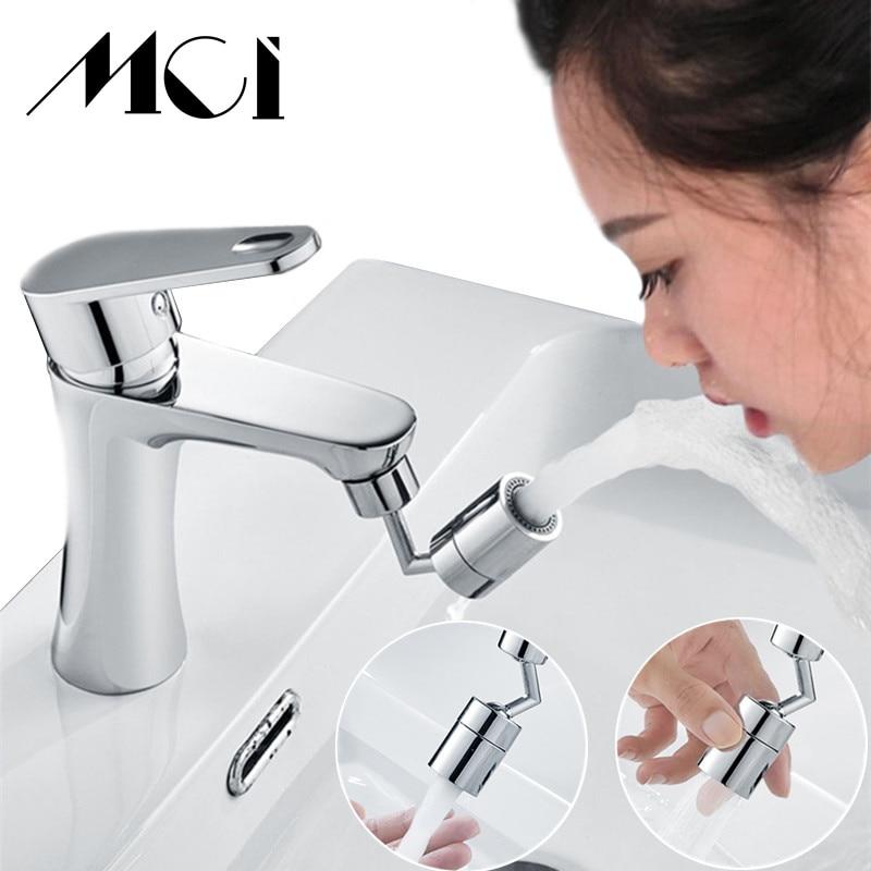 Аэратор для кухонного смесителя Mci, универсальный поворотный фильтр на 720 градусов, 2 режима