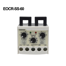 цена на ManHua EOCR-SS 5-60A Electronic Overload Relay Phase Loss Protection Independently Adjustable Starting Relay