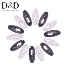 6Pcs Mixed Plastic Safety Pins Women Brooches Round Muslim Hijab Safety Pin Buckle Accessories DIY Apparel Accessory Decoration