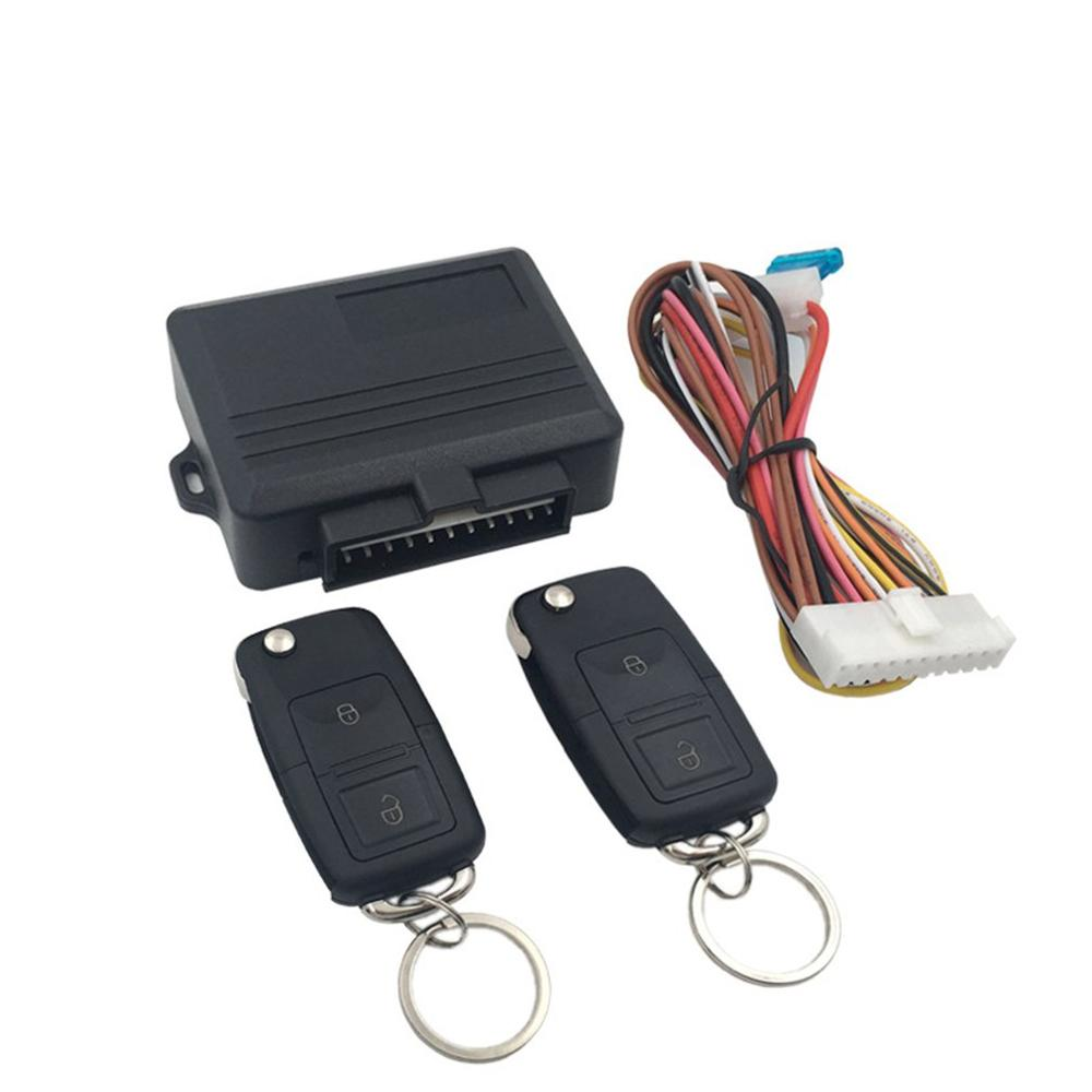 Universal Car Central Locking Controller Remote Central Locking Remote Control Keyless Entry System Car Controller|Burglar Alarm| |  - title=