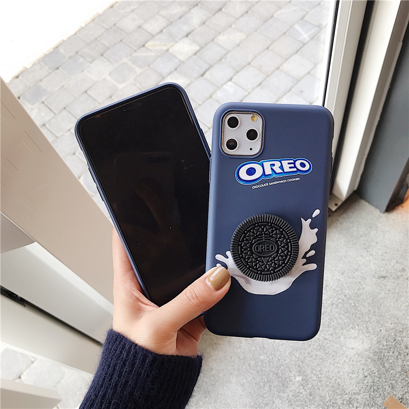 3D Oreo <font><b>Case</b></font> Chocolate Biscuit Cookie Soft TPU <font><b>Cases</b></font> for <font><b>Xiami</b></font> <font><b>Redmi</b></font> S2 4A 4X 5A 6A 5 Plus <font><b>Note</b></font> 5A 5 <font><b>6</b></font> 7 <font><b>Pro</b></font> Cover Coque Funda image