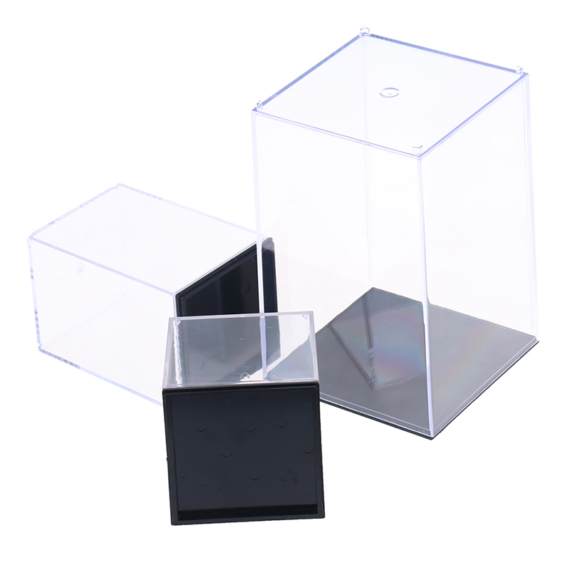 New Acrylic Display Case Box Dustproof For Action Figure Models Collectibles