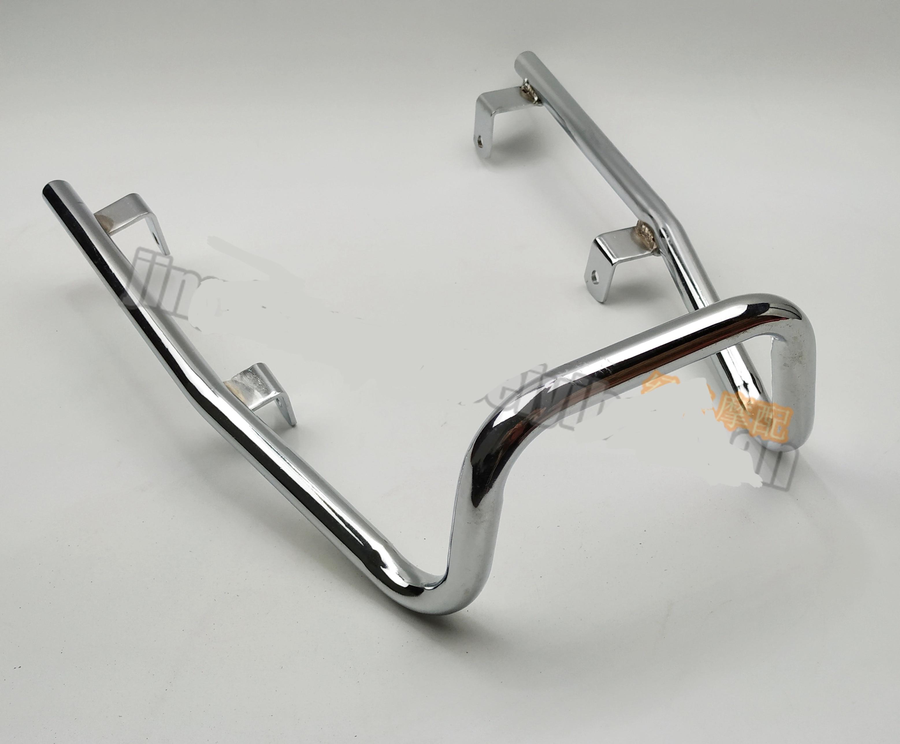 Chrome Plated Steel Durable Rear Tail Grab Handle Sissy Bar Fit For Honda CB400F 400 Four / CB1100 Chrome