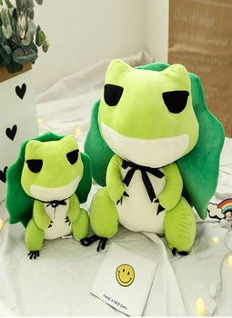 Honji New Travel frog the Frog The Cute travel 30cm plush toys doll animal Stuffed Animal Doll