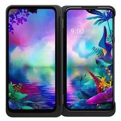 LG G8X ThinQ оригинальный разблокирована LTE Android телефон Snapdragon 855 Octa Core 6,4 дюйм6 ГБ и 128 ГБ 32MP & 12MP LG V50S ThinQ 5G