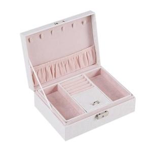 European-Style Jewelry Box Multi-Layer Portable Jewelry Storage Box