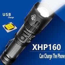 1000000LM Super lumineux lampe de poche XHP100.2 LED USB Rechargeable XHP70.2 XHP50 Zoom torche lanterne utilisation 5000mAh 18650 26650 batterie