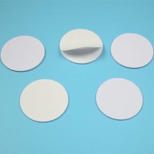 Image 3 - 25mm 13.56Mhz NFC מדבקת דבק מטבע כרטיסי תגיות NFC 213 NFC215 NFC216 PVC עמיד למים עבור כל NFC טלפונים
