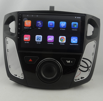 9 octa-core 1280*720 QLED screen Android 10 Car GPS radio Navigation for ford Mondeo Focus C-Max 2012-2019 image