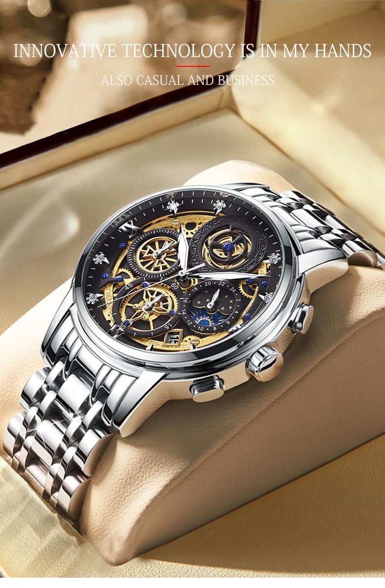 Men's Luxury Sports Romantic Watch Relogio Mascuilino