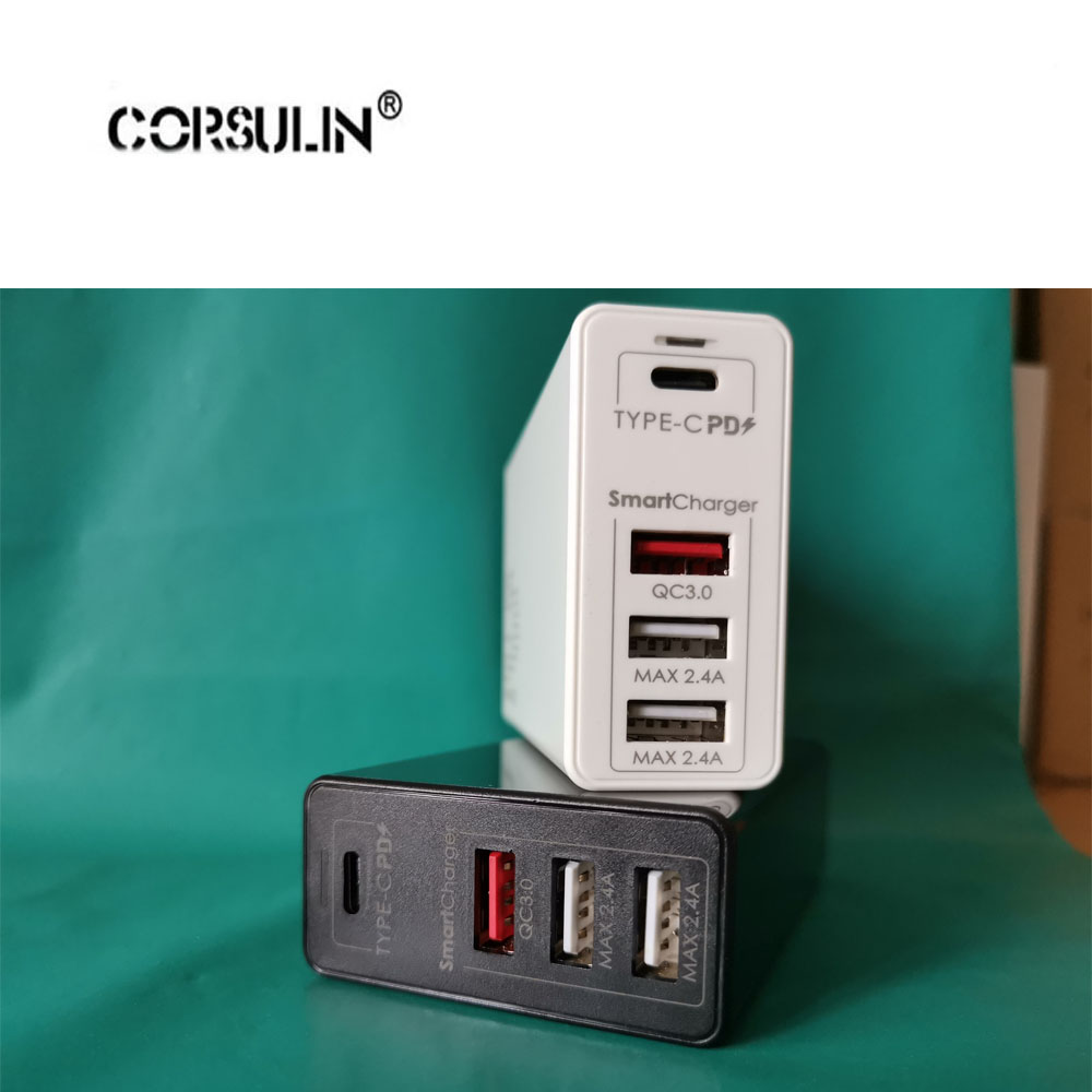 Corsulin 100W 65W GaN Fast Charger With Quick Charge 3.0 4.0 AFC USB PD Charger For IPhone Pro Macbook Pro Xiaomi Huawei Samsung