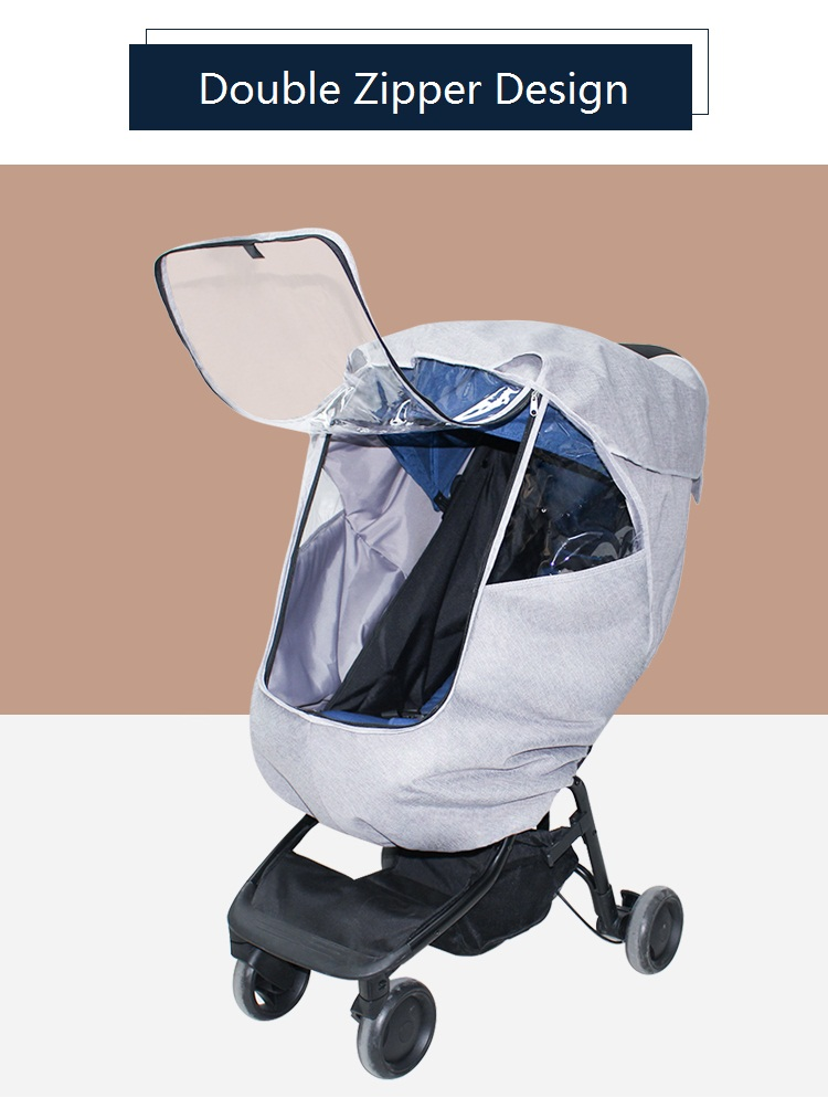 chuva com manter quente funcao bebe trolley 02