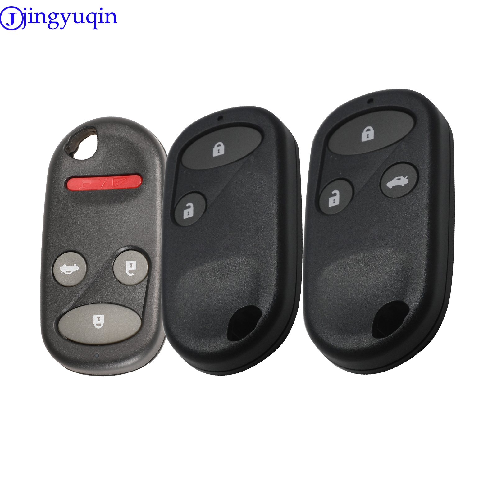 jingyuqin 2/3/4 Buttons <font><b>keyless</b></font> <font><b>remote</b></font> control key car shell quality is good for <font><b>Honda</b></font> Civic crv <font><b>remote</b></font> key image