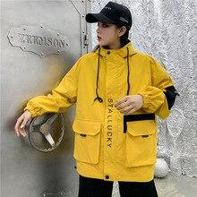 Couple Clothes Non-mainstream Sense of Design Popular Brand Retro INS Coat Men And Women Hong Kong S