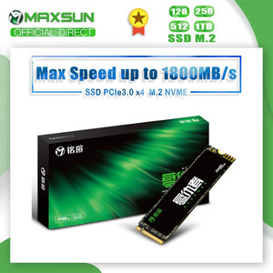 MAXSUN M2 SSD 120GB 256GB 512GB 1TB 3D NAND Flash Internal Solid State Drives Gen3 X 4 m.2 laptop desktop Internal Storage