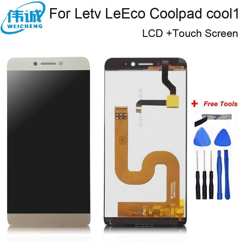 WEICHENG для Cool 1 C106 ЖК-дисплей + сенсорный экран в сборе LeTV LeEco Coolpad Cool 1 ЖК-дигитайзер Сенсорная стеклянная панель + Инструменты