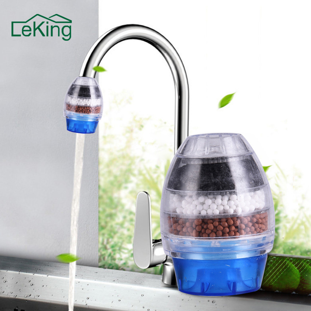 Household Water Filter Carbon Home Household Kitchen Mini Faucet Tap Water Clean Purifier Filter Filtration Cartridge