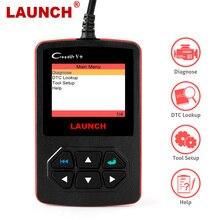 الإطلاق ماسح ضوئي تشخيصي احترافي للسيارة ، قارئ رمز DTC O2 EVAP ، أداة تشخيص السيارة ، كابل OBD2