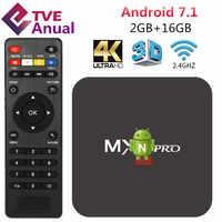 Caja de Smart TV de Android RK3229 2G 16G TVBox WiFi 4K HD reproductor multimedia con 1 año de suscripción TVE IPTV entrega desde Sao Paulo Brasil
