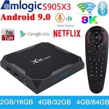 X96 Max Plus TV Box Android 9.0 4GB 64GB Amlogic S905X3