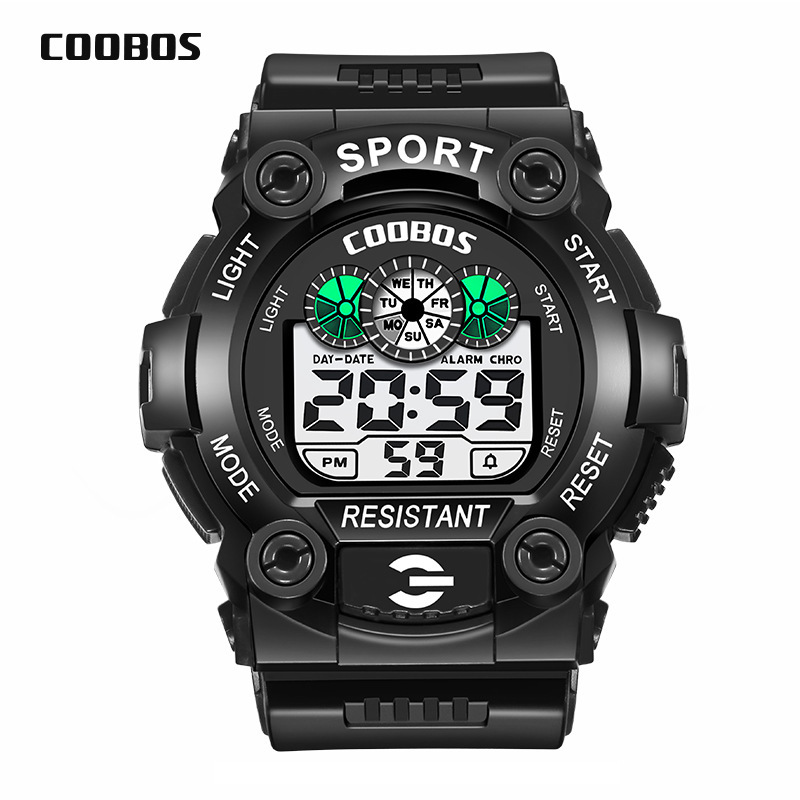 New Fashion Sport Watch Children Kids Watches For Boys Students Electronic LED Digital Wristwatch Child Clock Teen Hours Hodinky