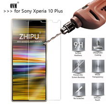 25 Pcs Tempered Glass For Sony Xperia 10 Plus Screen Protector 2.5D 9H Tempered Glass For Sony Xperia 10 Plus Protective Glass