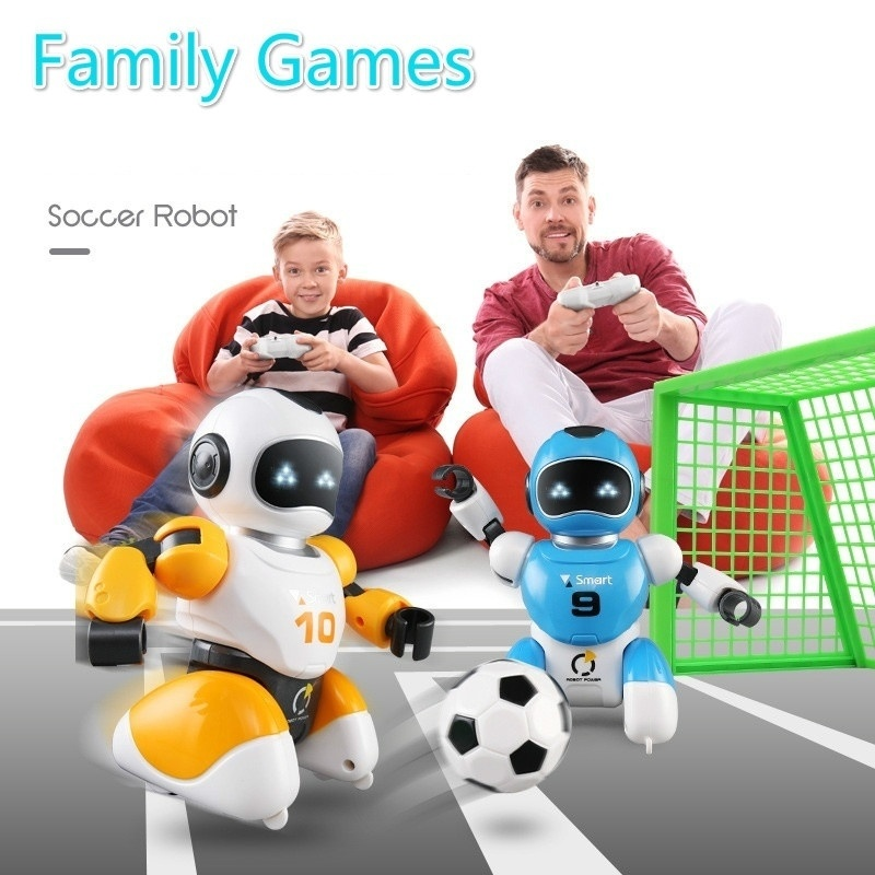 Soccer Robot Toys RC Intelligent Battle Robots Programming Children Gift for Boys Smart Robots Toy