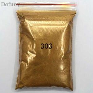 Image 4 - 50g عالية الجودة الميكا مسحوق ذهبي الصباغ لديي الديكور الطلاء مستحضرات التجميل المعدنية الذهب الغبار الصابون صبغ