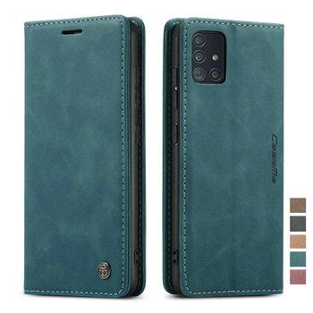 Estuches para Samsung A51 Flip caso de negocios de cuero caso de...