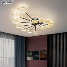 Современная светодиодный ная люстра Светильники для гостиной