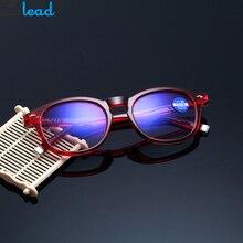 Zilead TR90 Bifocal Sun Reading Glasses Anti Blue Light Roun