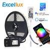 DC 12V 미니 WIFI RGB/RGBW/RGBWW Led 스트립 5050 Led 유연한 빛 방수 매직 홈 APP Alexa Google / 24Key IR RGB 스트립