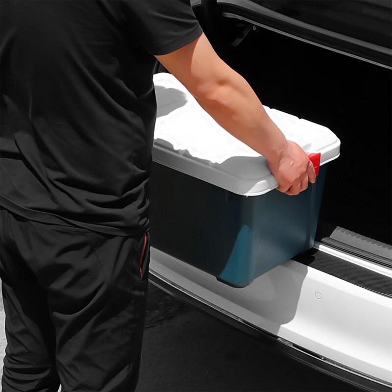 Image 3 - Universal Car Trunk Rear Guard Plate Sticker for Lada Granta Xray Vesta For Kia Rio Solaris Creta For Golf Polo-in Car Tax Disc Holders from Automobiles & Motorcycles