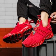 Модная мужская обувь дышащая для бега 46 кроссовки большого
