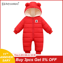 Newborn Jumpsuit Overalls Kids Clothes Baby-Boys Outfit Hoodies Snow-Wear Girl Children