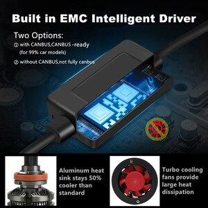 Image 3 - חדש הגעה H4 Led H7 canbus lampada רכב פנס נורות H11 LED HB3 9005 HB4 9006 מנורות 6500K 12V 16000LM אוטומטי Led ערפל אורות