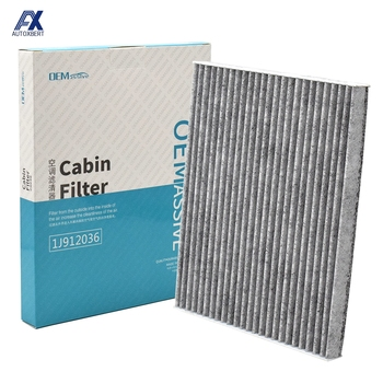 Z węglem aktywnym do samochodu pyłek filtr powietrza kabinowego dla Hyundai Tucson JM ix35 LM EL ELH Kia Sorento JC Sportage SL JE KM 97133-2E250 tanie i dobre opinie CN (pochodzenie) Activated Carbon Filter Cloth 0 1kg 1J912036