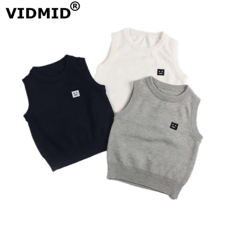 VIDMID Children Knitted Cardigan autumn boys Clothing Kids girls Outerwear Jacket sweaters clothes baby boys cotton vest 7050 03 1