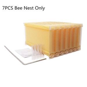 Image 3 - אוטומטי עץ כוורת בית עץ דבורים תיבת ציוד גידול דבורים כוורן כלי לכוורת דבורים אספקת 66*43*26cm באיכות גבוהה