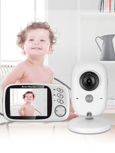 Baby-Monitor Security-Camera Video-Color VB603 Night-Vision Wireless High-Resolution