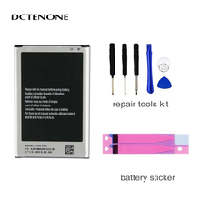 DCTENONE Phone Battery B800BE For Galaxy Note 3 N900 N9006 N9005 N9000 N900A N900T N900P 3200mAh With NFC Mobile Phone Battery protective clear screen protector for samsung galaxy note 3 n9000 n9005 transparent 3 pcs