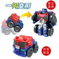 Mumba Malmedy Flash Transformation Fun Autobots Inertia Mini Warrior Car Robot Models Educational Toy