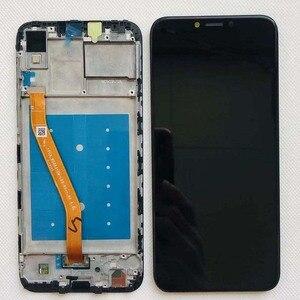 Image 5 - ЖК дисплей с дигитайзером на Huawei Honor Play, сенсорный экран 6,3 дюйма в сборе, для Huawei honor play, оригинальный ЖК дисплей с рамкой
