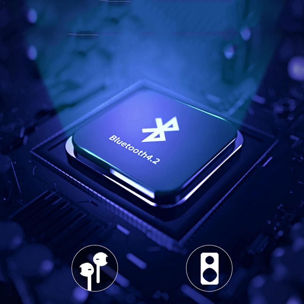 MP4 плеер Bluetooth 4,2 полный сенсорный экран полный видео английский словик долгого ожидания Портативный Mp 4 Walkman 8G